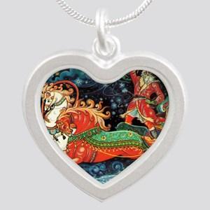 greeting_cards_5.5x5.7_front Silver Heart Necklace