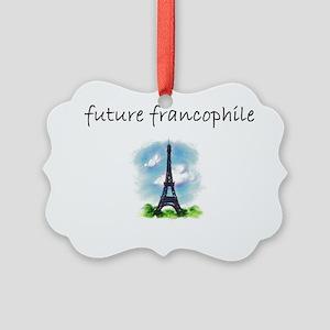 future francophile Picture Ornament