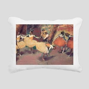 degas group of dancers l Rectangular Canvas Pillow
