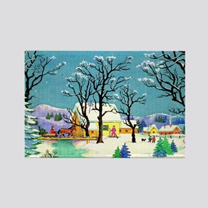 greeting_cards_5.5x5.7_front_039 Rectangle Magnet