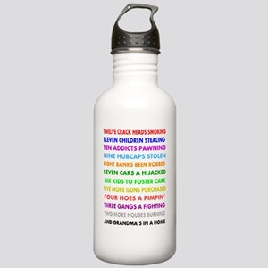 12 DAYS OF CHRISTMAS f Stainless Water Bottle 1.0L