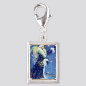 greeting_cards_5.5x5.7_front Silver Portrait Charm