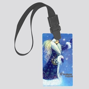 greeting_cards_5.5x5.7_front_024 Large Luggage Tag