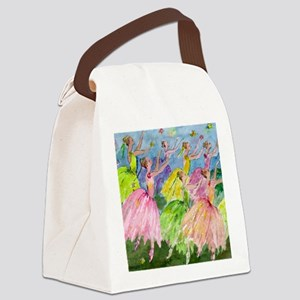 flowerdsqua. Canvas Lunch Bag