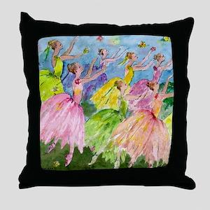 flowerdsqua. Throw Pillow