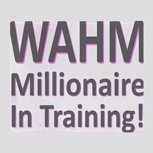 wahm_millionaire_10x10 Throw Blanket