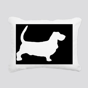 bassetlp Rectangular Canvas Pillow