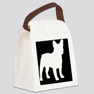 frenchbulldoglp Canvas Lunch Bag