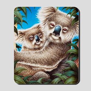 Koala Together (iPad 2 folio Covers) Mousepad