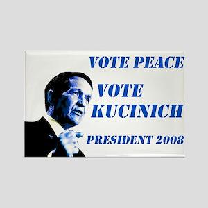 Vote Peace Vote Kucinich Magnet