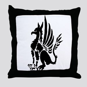 Guardian Gryphon Throw Pillow