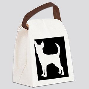 chihuahuasmoothlp Canvas Lunch Bag