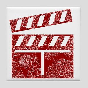 red Tile Coaster