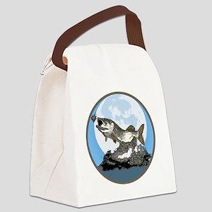 musky cutout moon1 Canvas Lunch Bag