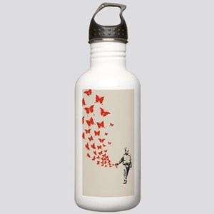 pike-butterfly-STKR Stainless Water Bottle 1.0L