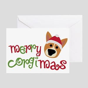 corgimas Greeting Card