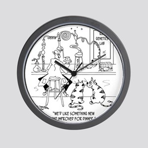 6606_food_processing_toon Wall Clock