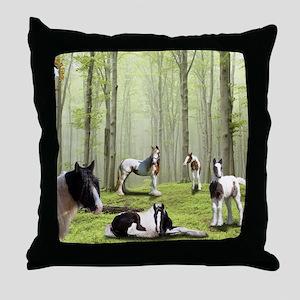 Betsys Puzzle copy Throw Pillow