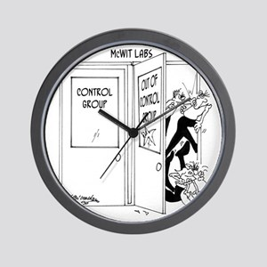 6727_science_cartoon Wall Clock
