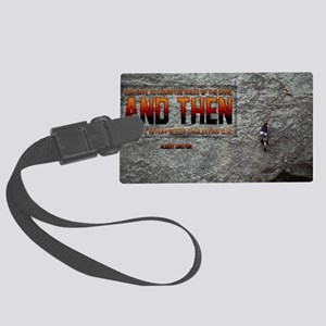 Rules Of The Game Quote on Large Large Luggage Tag