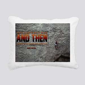 Rules Of The Game Quote  Rectangular Canvas Pillow