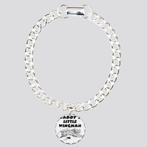 daddys_little_wingman Charm Bracelet, One Charm