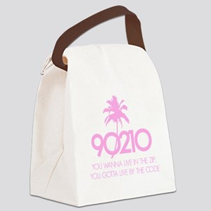 90210Code1D Canvas Lunch Bag
