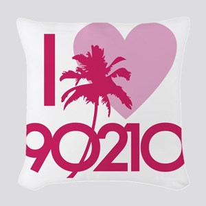 90210loveD Woven Throw Pillow