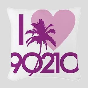 90210loveE Woven Throw Pillow