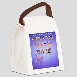 Fibro Fog_mpad Canvas Lunch Bag