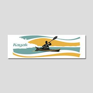 kayak sky Car Magnet 10 x 3