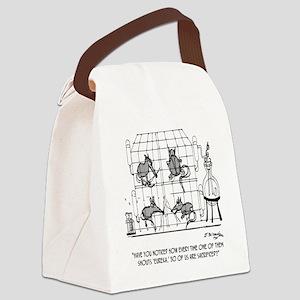 2171_lab_cartoon_EK Canvas Lunch Bag