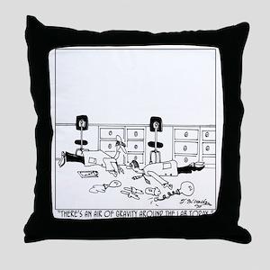 5896_physics_cartoon Throw Pillow
