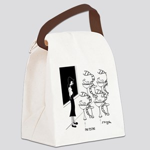 6575_biology_cartoon Canvas Lunch Bag