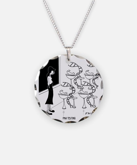 6575_biology_cartoon Necklace