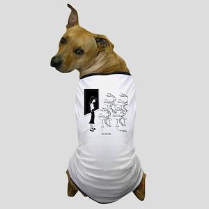 6575_biology_cartoon Dog T-Shirt