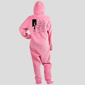 6575_biology_cartoon Footed Pajamas
