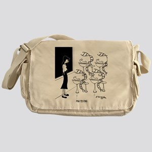 6575_biology_cartoon Messenger Bag