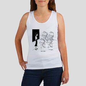 6575_biology_cartoon Women's Tank Top