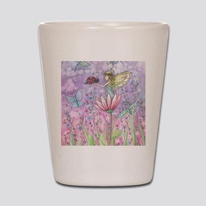 a friendly encounter poster zazzle Shot Glass