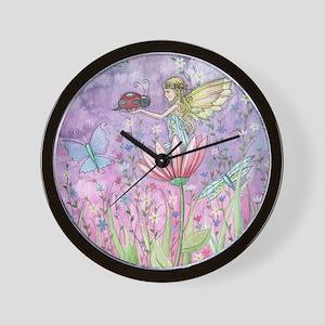 a friendly encounter poster zazzle Wall Clock