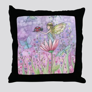 a friendly encounter poster zazzle Throw Pillow