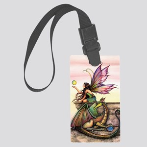 Dragons Orbs Large Luggage Tag