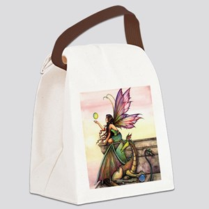 Dragons Orbs Canvas Lunch Bag