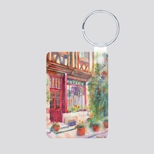 Davids Europe 2 Aluminum Photo Keychain