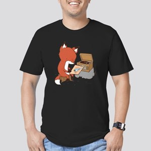 fox Men's Fitted T-Shirt (dark)