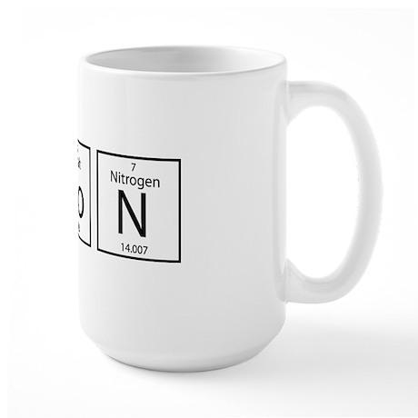 Bacon Elements Large Mug