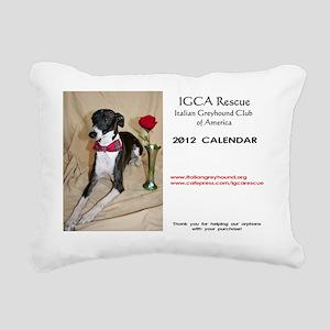 CalendarCover Rectangular Canvas Pillow