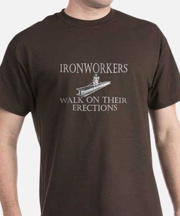 Ironworkers Walk on their Ere T-Shirt