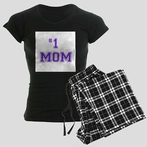 #1 Mom in purple pajamas